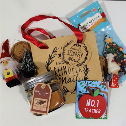 Teachers Candle gift bag